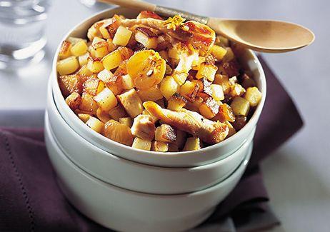 rissolé pomme de terre